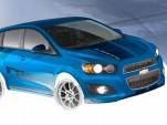 Chevy's B-Spec Sonic SEMA concept
