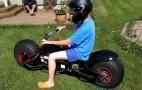 Super Dad Builds His Sons A Batpod: Video