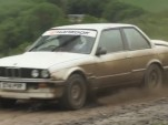 Chris Harris and the £4,000 BMW 325i rally car