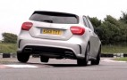 Chris Harris Drives The Mercedes A45 AMG and BMW M135i: Video