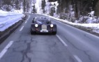 Chris Harris Drives The New Morgan Plus 8 To Geneva: Video