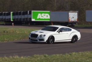 Chris Harris tests the 2015 Bentley Continental GT3-R
