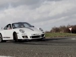 Chris Harris tests the cold-weather traction of Michelin Pilot Sport Cup tires.