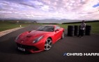 Chris Harris Burns Rubber In The Ferrari F12 Berlinetta: Video