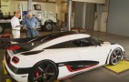 Jay Leno drives the 1,341-hp Koenigsegg One:1
