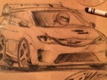 Chrysler Pacific Hellcat sketch - Image via Ralph Gilles