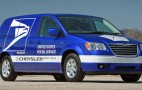 Chrysler presents electric minivan concepts for U.S. Postal Service