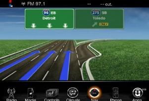 Chrysler Uconnect with navigation