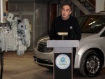 Chrysler's Sergio Marchionne &amp; EPA Administrator Lisa Jackson announce hydraulic-hybrid program