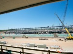 Circuit of the Americas construction progress, May 2012