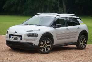 Citroen C4 Cactus Advanced Comfort Lab prototype vehicle