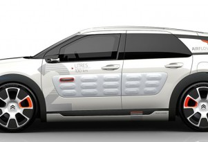 Citroen Compressed-Air Hybrid For Paris Motor Show: Cactus Airflow 2L Concept