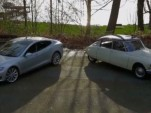 Citroen DS vs Tesla Model S video screencap