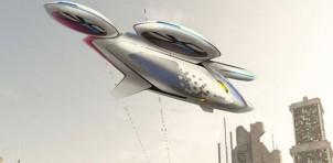 CityAirbus autonomous taxi rendering
