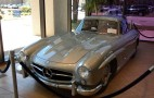 Clark Gable's 1955 Mercedes 300SL Coupe Heads To Auction