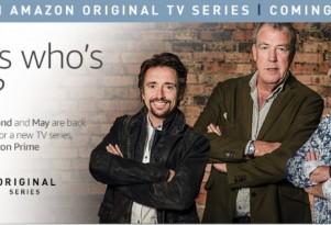 Clarkson, May, Hammond Head To Amazon Prime