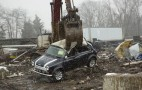 Classic Mini Crushed By U.S. Customs As Part Of Operation Atlantic: Video