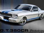 Classic Recreations 1966 Shelby Mustang GT350CR replica rendering
