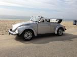 Classic Volkswagen Beetle Convertible, Santa Monica, 2012
