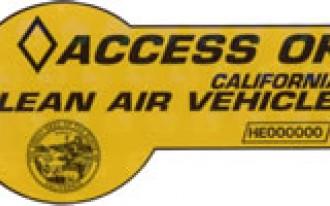 California Hybrid Drivers Lose Car-Pool Lane Privileges