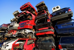 Despite Clunkers, U.S. Still Scraps More Cars Than It Buys