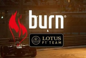 Coca-Cola's Burn energy drink logo will feature on Lotus' F1 car in 2013