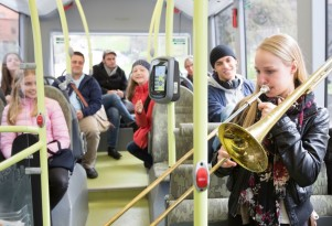Volvo electric buses: quiet enough for classic-music concerts
