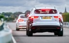 Ford, Jaguar, Land Rover and Tata take part in connected and self-driving car trial