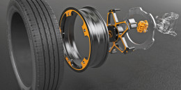 Continental aluminum wheel and brake concept