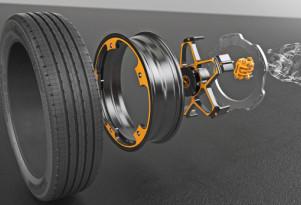 Continental aluminum wheel and brake concept