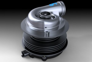 Electric Supercharger Offers Diesel Efficiency For Gasoline Engines
