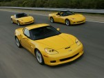 Corvette Z06 beats Porsche 911 Turbo around a track