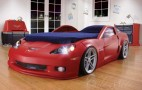 Can't Get Kids To Go To Sleep? Check Out This Z06 Corvette Bed