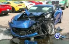 Two Corvette Z06s Wrecked After Hyundai Driver Has Seizure: Video