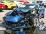 Corvette Z06s Wrecked