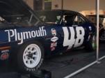 Craig Jackson's ex-Dan Gurney Plymouth Barracuda Trans-Am racer.