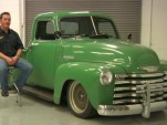 Craig Morrison and his 1950 Chevy 3100 Pickup