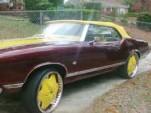 Craigslist 1971 Oldsmobile Cutlass Convertible Donk