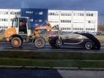 Crashed Bugatti Chiron via GTBoard
