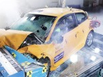 Crashed Volvo 30 Electric Car