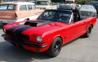 Charlie Sheen's NASCAR 1966 Mustang Up For Charity Auction