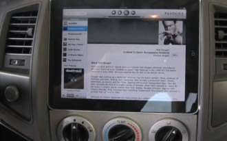 Video: Apple iPad Installed In Toyota Tacoma Dashboard