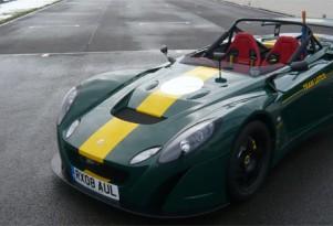 Custom Lotus 2-Eleven track car gets historic design