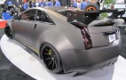 D3 Le Monstre Wide-Body Cadillac CTS-V Coupe: 2011 SEMA Live Photos