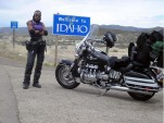 Two Road Warriors Meet America