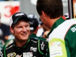 Dale Earnhardt Jr and Steve Letarte celebrate win - NASCAR photo