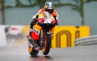 Pedrosa Leads Dry And Wet Friday MotoGP Practices At Sachsenring