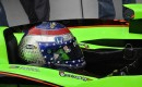 Danica Patrick exits the pits on her successful Sunday qualifying effort Photo: Anne Proffit