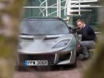 Daniel Craig lookalike at Lotus headquarters in April Fools' Day prank