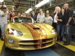 D'Ann Rauh takes delivery of her custom 2010 Dodge Viper 